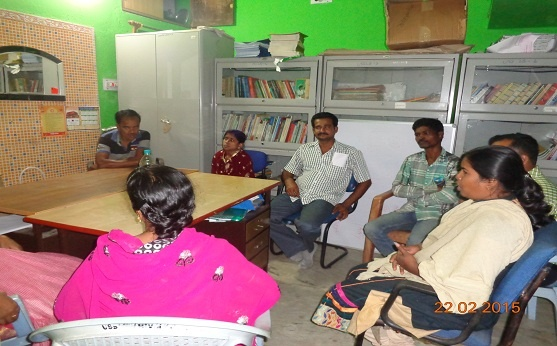 Meeting with PLHIV